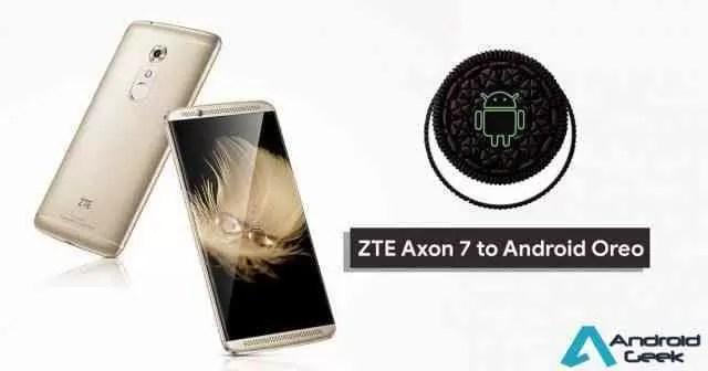 ZTE Axon 7 recebe atualização Android 8.0 Oreo, mas está cheio de problemas 1