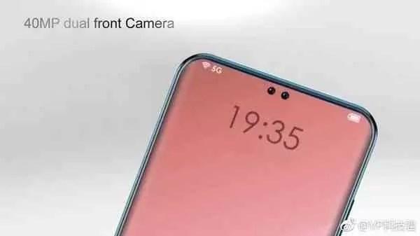 OPPO R19 terá duas câmaras frontais integradas no ecrã 2
