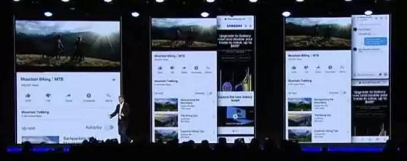 Já viram o dispositivo dobrável da Samsung? O futuro promete ser brilhante 2