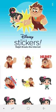 WhatsApp e Disney unem-se para lançar um pacote de adesivos Ralph Breaks the Internet 2