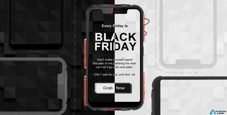eFox para além de uma campanha BlackFriday espectacular dá desconto de 50% nos equipamentos Umidigi 1