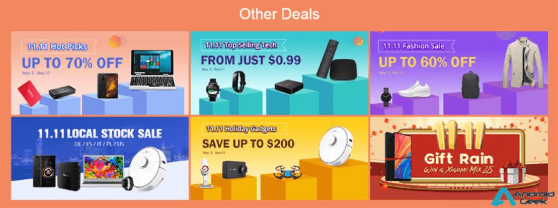 Campanha 11.11 da GeekBuying recebe mais marcas e promoções 5