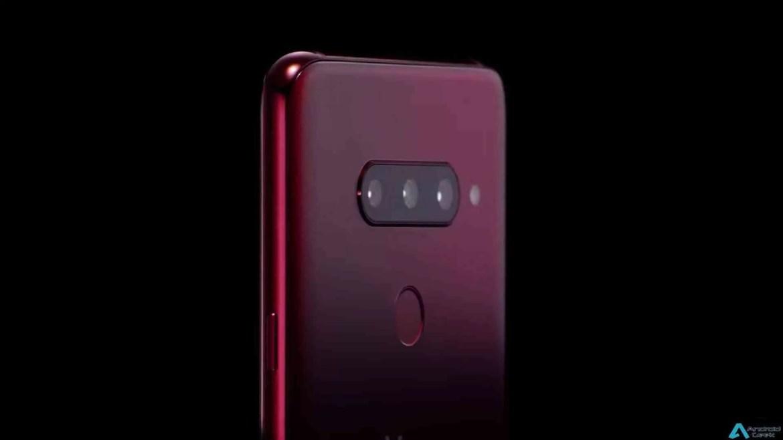 LG regista cinco nomes da série V, a incluir V40 e V90 1