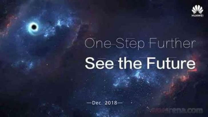 Teaser revela lançamento do Infinity-O da Huawei em dezembro 1