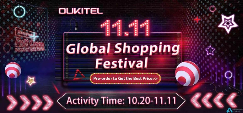 Querem Smartphones com uma Grande Bateria? Promoção OUKITEL Brand Sale EM 11.11 está com 50% desconto 1