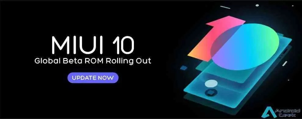 MIUI 10 global beta version with Android Pie – Navva