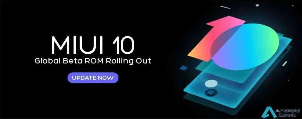 Xiaomi MIUI 10 beta atualização 8.12.20 anunciada 1