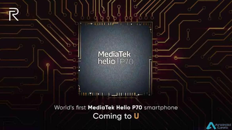 Telefone da série U real Helio P70