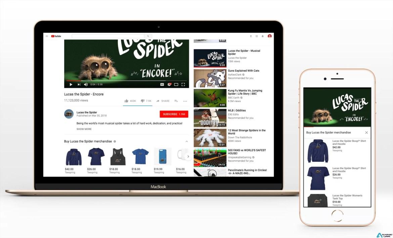 Teespring e YouTube expandem integração comercial para YouTubers portugueses qualificados 1