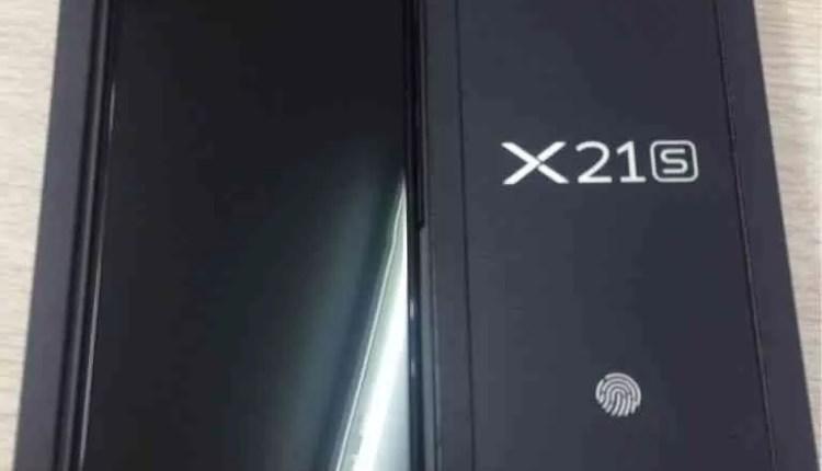 Fotos de unbox revelam o Vivo X21S com sensor de impressão digital no ecrã 2