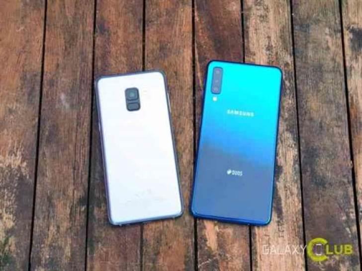 Samsung Galaxy A50 tem bateria de 4.000 mAh, câmara traseira principal de 24 MP 1