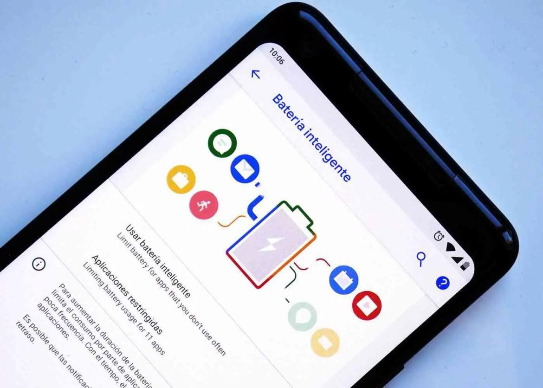 Bateria Inteligente no Android P DP2