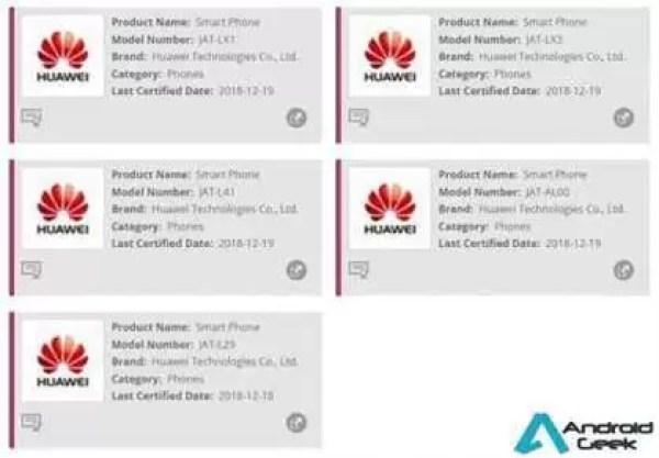 Possível Honor 8A, 8A Pro aprovado na Wi-Fi Alliance 2