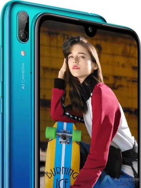 Huawei Y7 2019 Renders, especificações e mais aparecem online 1