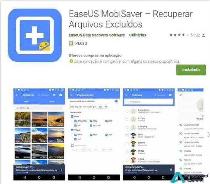 Análise EaseUS MobiSaver – Recuperar Arquivos Apagados em Android 1