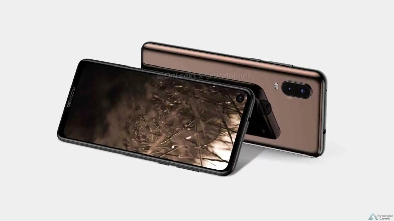 Motorola P40 é revelado, tem câmara no ecrã e Android One 3