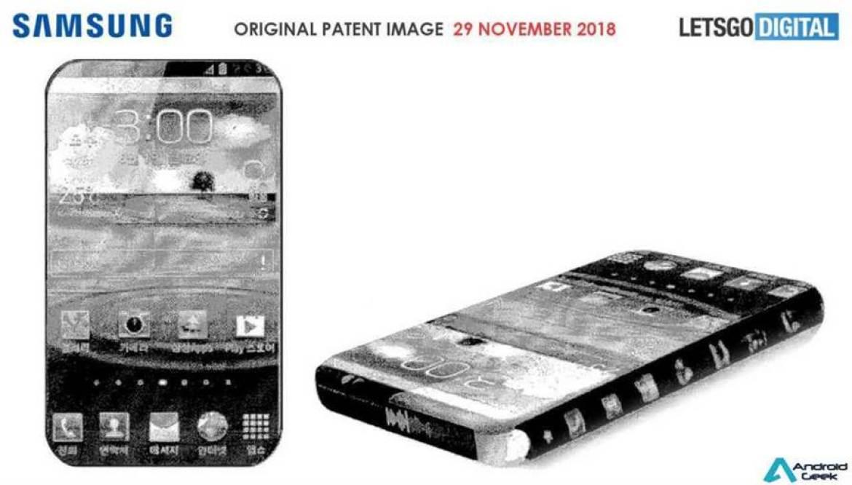 Patentes da Samsung mostram ecrã totalmente sem molduras 1