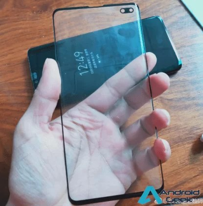 Galaxy S10 Protector de ecrã