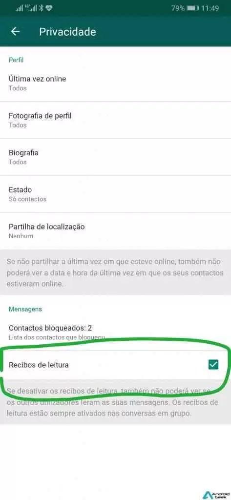 4 passos simples para tornar o WhatsApp mais seguro 3