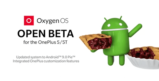 Android Pie 9 chega ao OnePlus 5 e 5T com o Open Beta 20/22 1