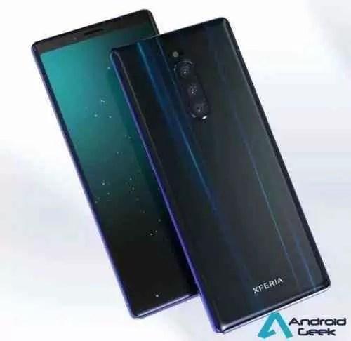 Leak Sony: A capa e protetor do ecrã Sony Xperia XZ4 reconfirma o ecrã extra-large e a câmara tripla 1