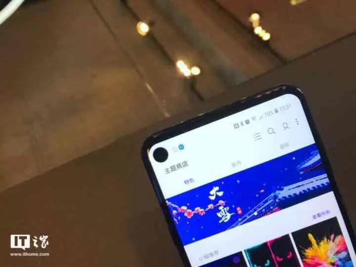 Samsung lança o Galaxy A8s com ecrã Infinity-O 5