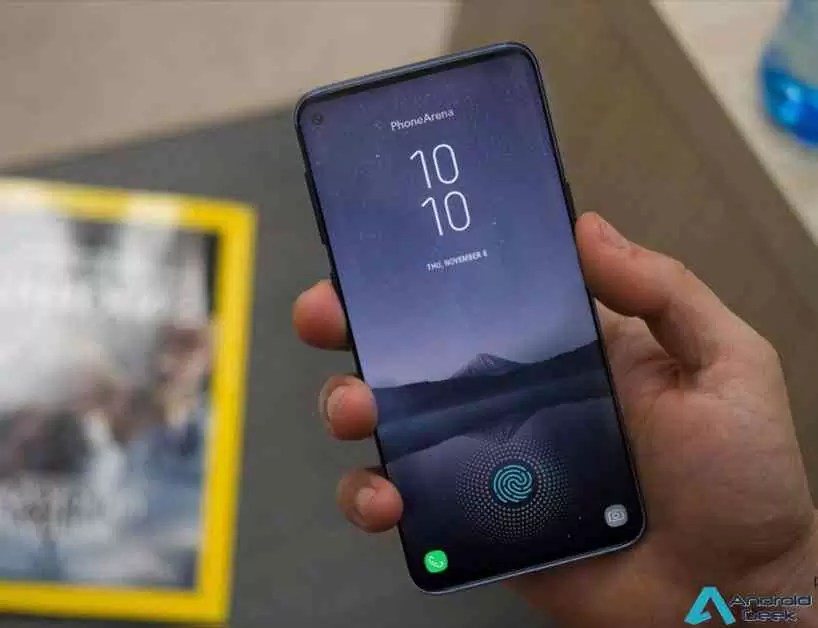Galaxy S10 + terá um buraco diferente no ecrã devido às suas duas câmaras selfie 1