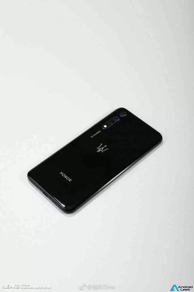 Leak Huawei: Honor V20 Maserati com camera de 48MP 1