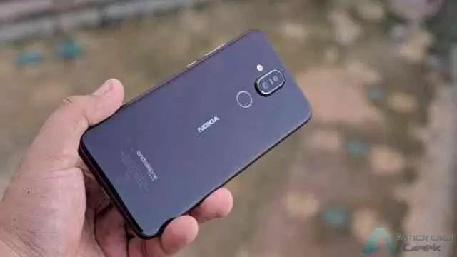 Nokia 8 Sirocco finalmente a receber a atualização do Android 9 Pie 1
