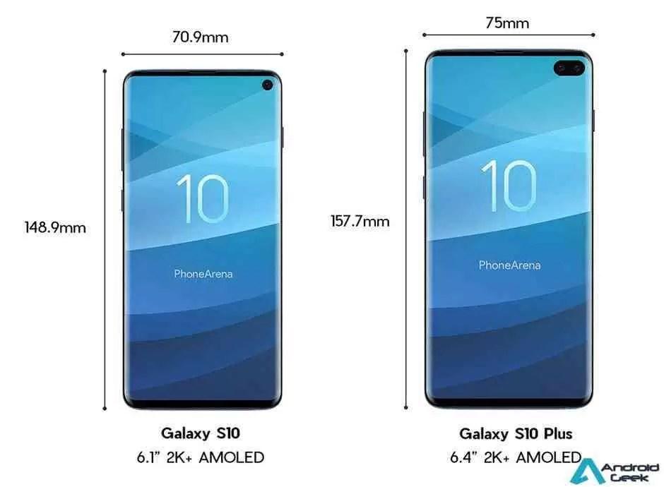 Samsung Galaxy S10 e S10 + aqui está o que precisam saber! 2