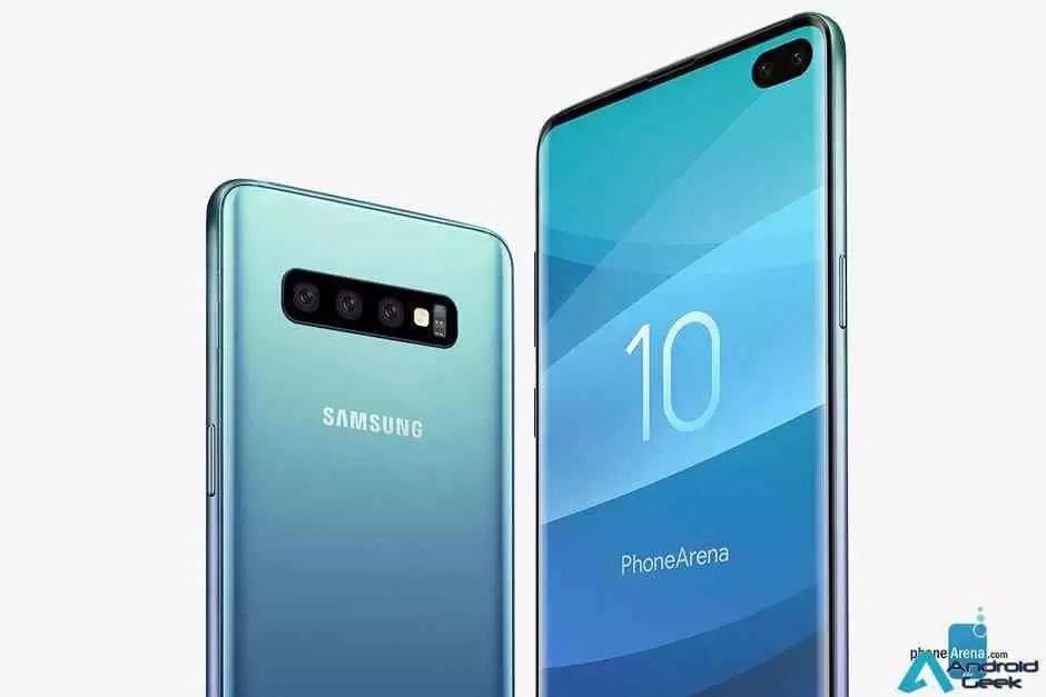 Samsung regista possível novo recurso de câmera Galaxy S10 1