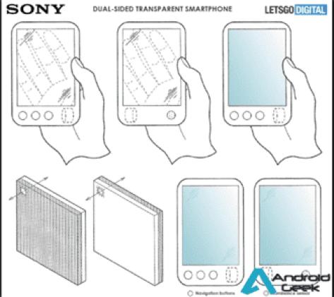 O smartphone dobrável da Sony pode ser.. transparente 3