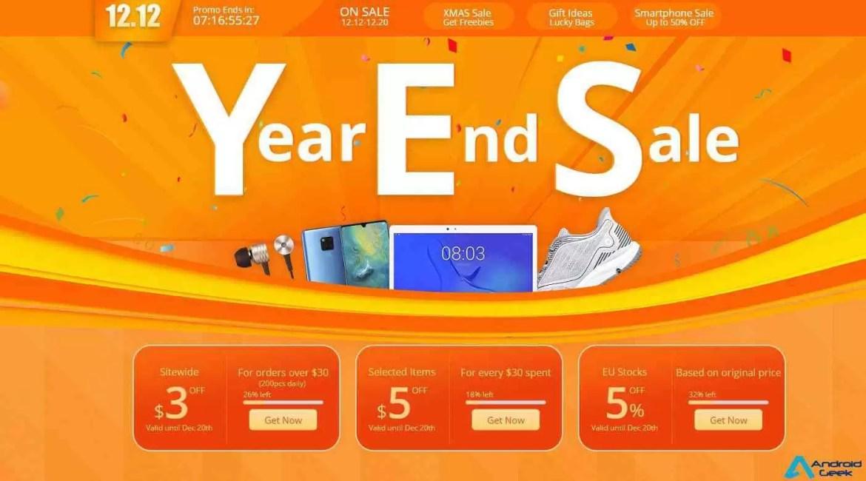 Geekbuying 1212 Year En Sale tem centenas de cupões e descontos para oferecer 1