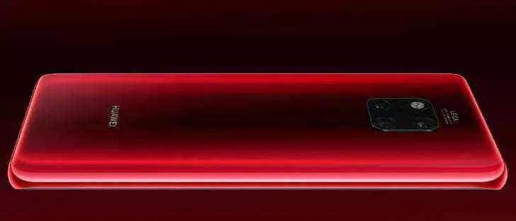 Huawei Mate 20 Pro em Vermelho e Cometa Azul a chegar em 10 de janeiro 1