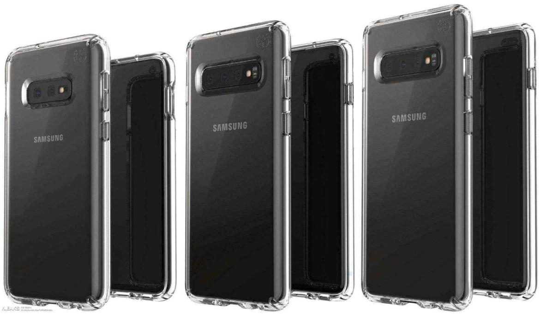 Samsung Galaxy S10 e Galaxy S10 + podem apresentar uma bateria maior ou de carregamento mais rápido 1