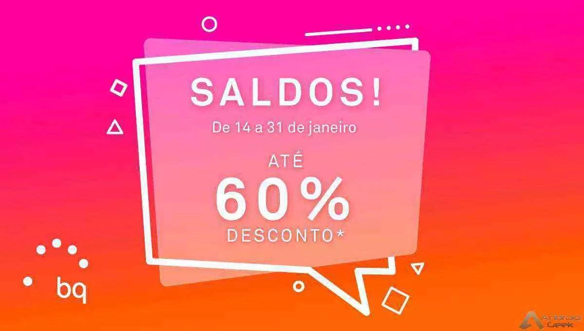 BQ tem saldos de até 60% na sua loja online! Sim, 60%! 1