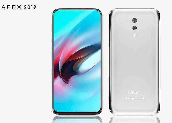 O Vivo APEX 2019 é o smartphone mais bonito que o utilizador vai ver hoje