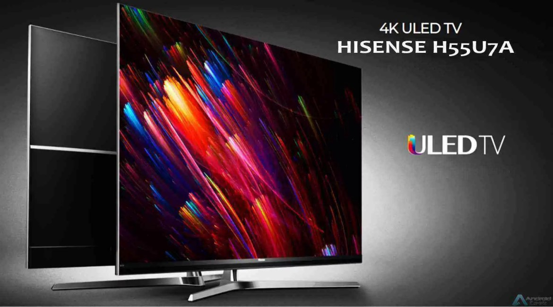 Análise Hisense de 55 polegadas Series 7 Smart TV 4K H55U7A 3