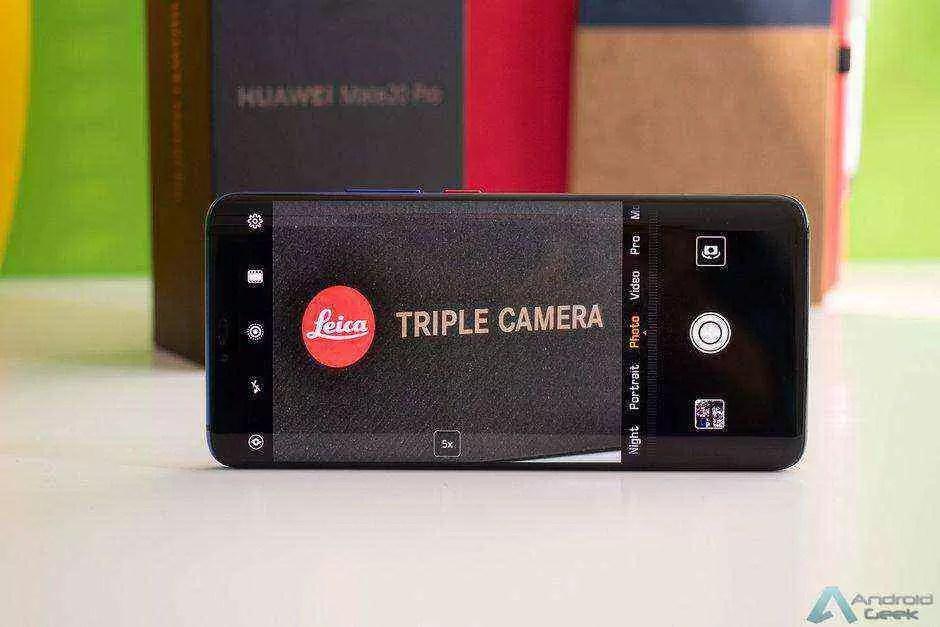 Huawei Mate 20 Pro recebe outra grande atualização de desbloqueio facial e câmera 1