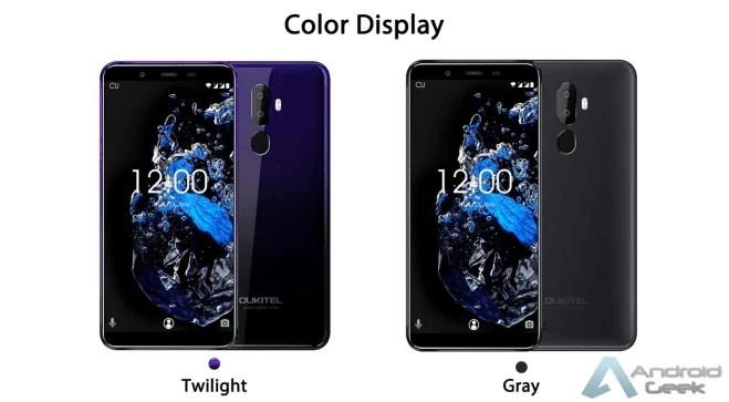 OUKITEL U25 Pro Twilight por apenas 83,86€ - Octa-core com 4 GB / 64 GB de memória 1