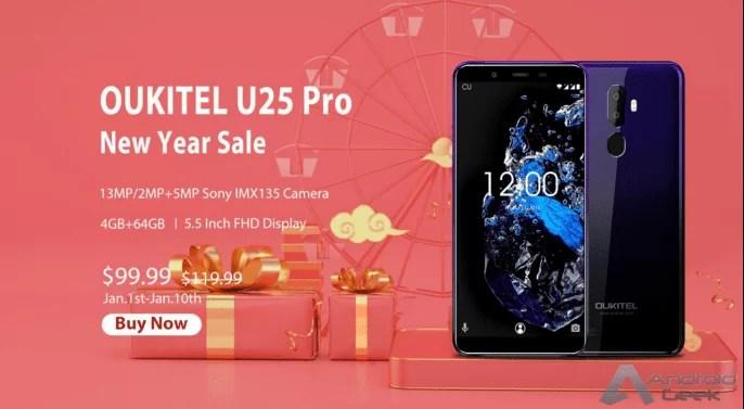 OUKITEL U25 Pro. 9 razões razões para escolher este smartphone Android 4