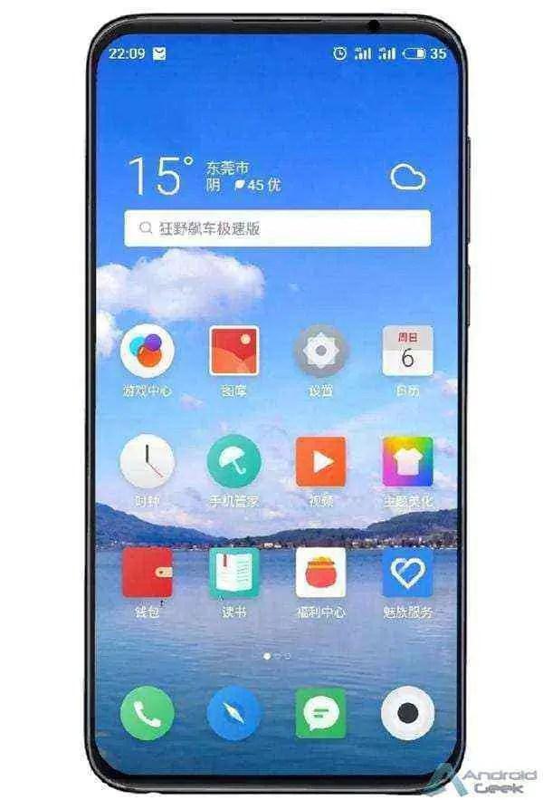 Huang Zhang partilha mais detalhes sobre o Meizu 16s 3