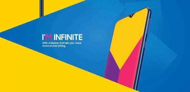 Samsung mostra o novo Galaxy M, o seu primeiro telefone com entalhe 1
