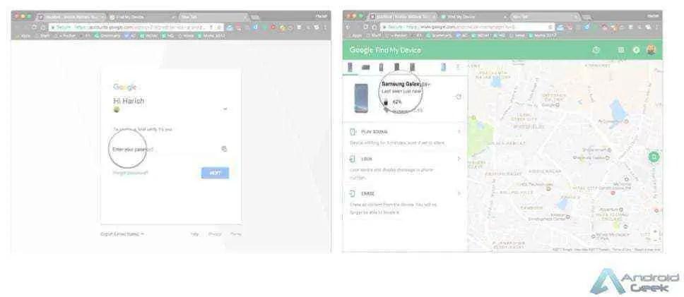Como configurar e usar a aplicação Find My Device 2