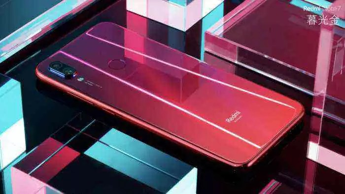 Xiaomi Redmi Note 7, cor vermelha