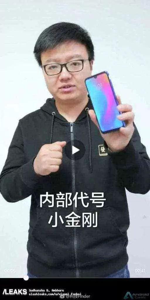 Xiaomi Redmi Note 7 visto num vídeo de teste de durabilidade e novo poster 1
