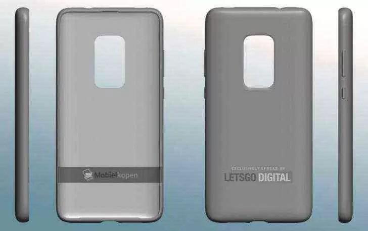 Patente da Huawei revela uma capa para o Mate 30 Pro com uma janela de câmera maior 1