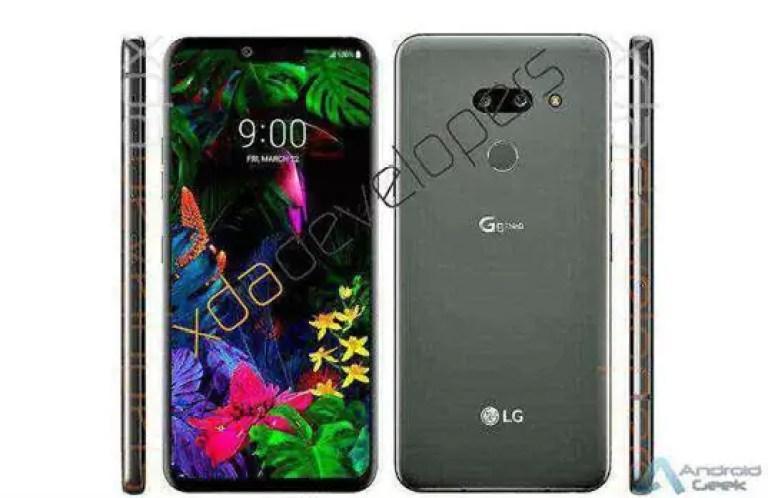Este seria o novo LG G8 ThinQ a ser apresentado no MWC 1