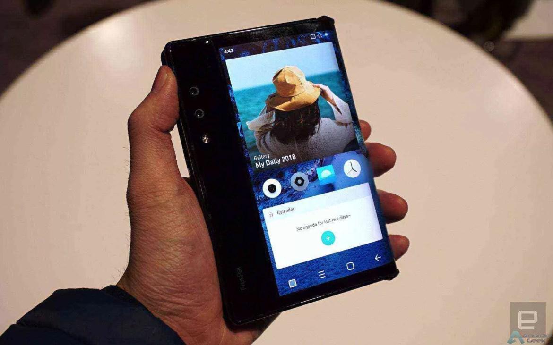 O primeiro smartphone dobrável real do mundo já está disponível 1