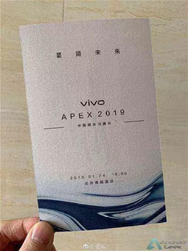 VIVO APEX 2019 chega a 24 de janeiro: Confirmado 2